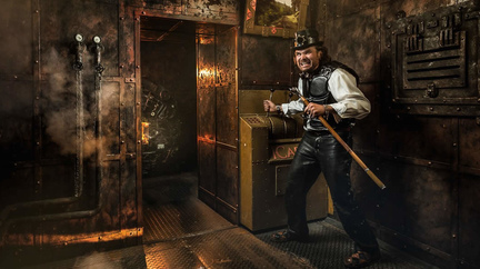 Квест «Стимпанк: паровоз» от компании «Lockation»