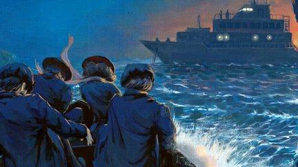 Бегство через Атлантику