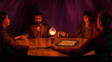 Квест «Спиритический сеанс» от компании «Questoria»